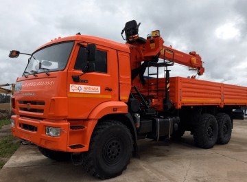 Манипулятор вездеход 7 тонн — Борт 9 тонн