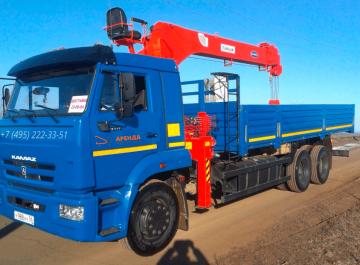 Манипулятор 7 тонн — Борт 10 тонн